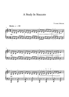 A Study In Staccato