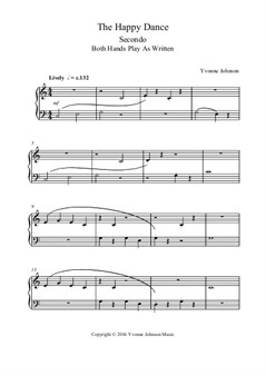 The Happy Dance - A Level 1 Piano Duet