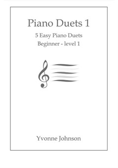 Piano Duets Bk.1 - 5 Easy Duets For Beginner - Level 1